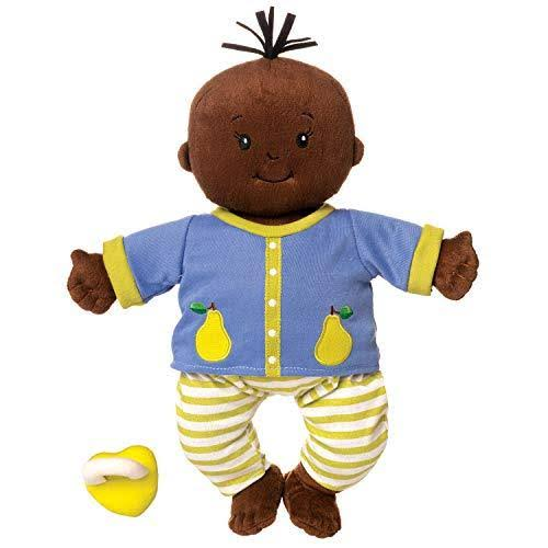 "Manhattan Toy Baby Stella Brown Doll 15"" Soft First Baby Doll"