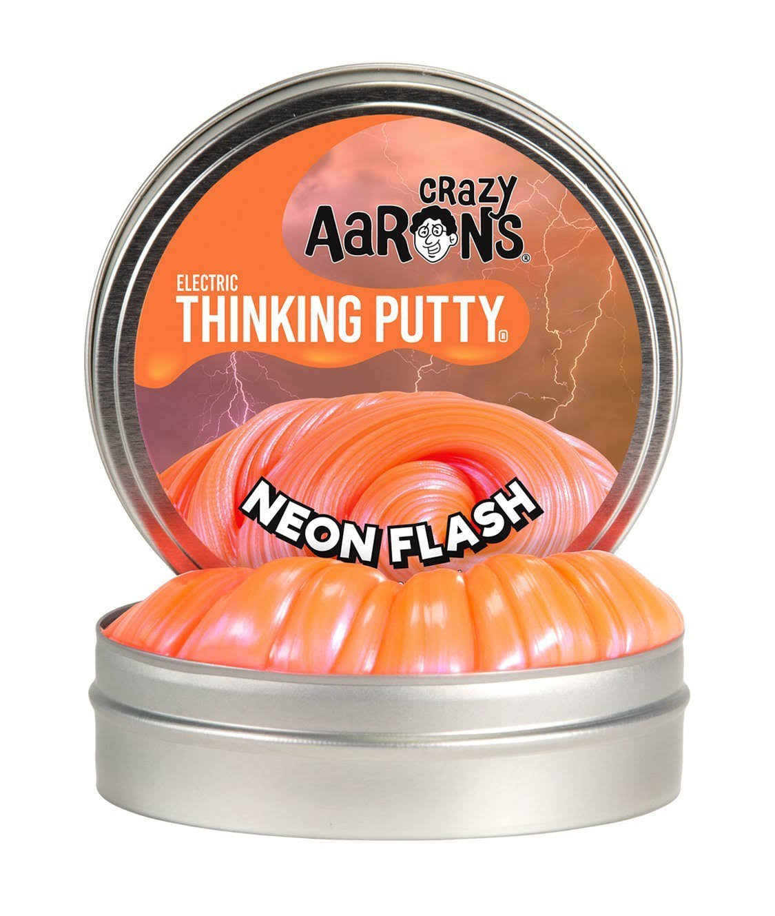 Crazy Aaron's Neon Flash Mini Thinking Putty