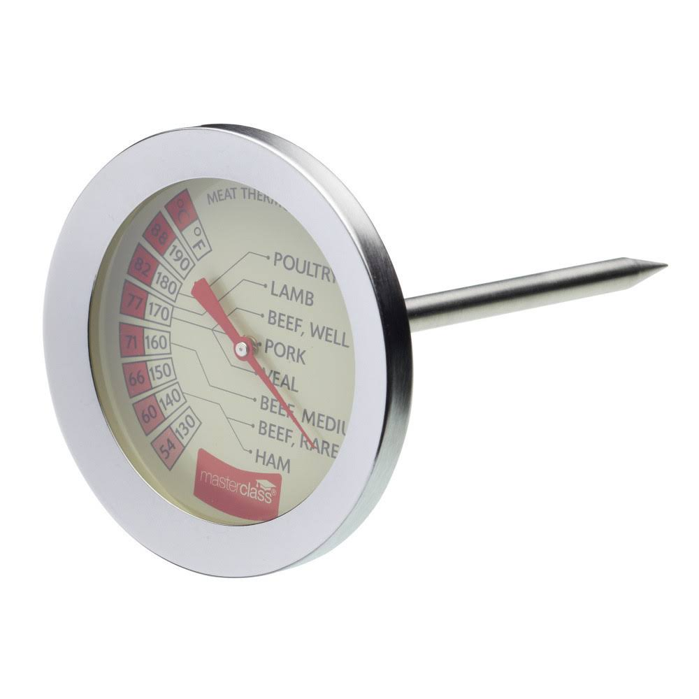 Master Class Meat Thermometer - Stainless Steel