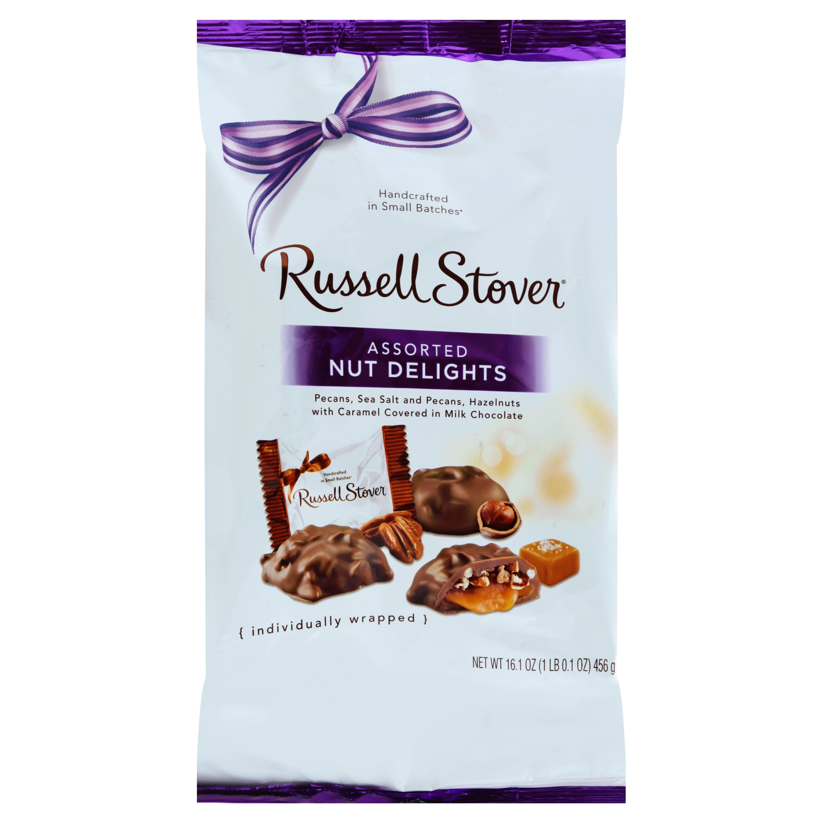 Russell Stover Nut Delights, Assorted - 16.1 oz