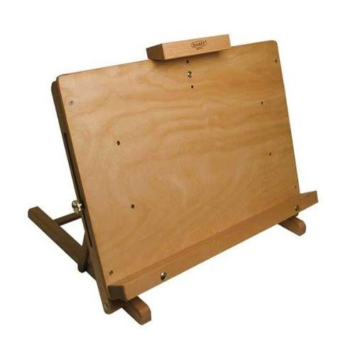 "Mabef MBM-34 Lectern Table Easel - Natural, 16.14"" x 20.08"""