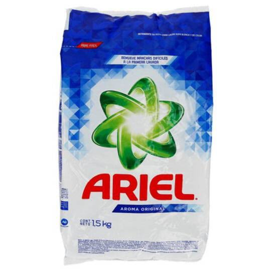 Ariel Laundry Detergent - Regular Powder, 1.5kg