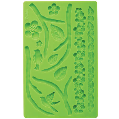 Wilton Fondant and Gum Paste Silicone Mold - Nature