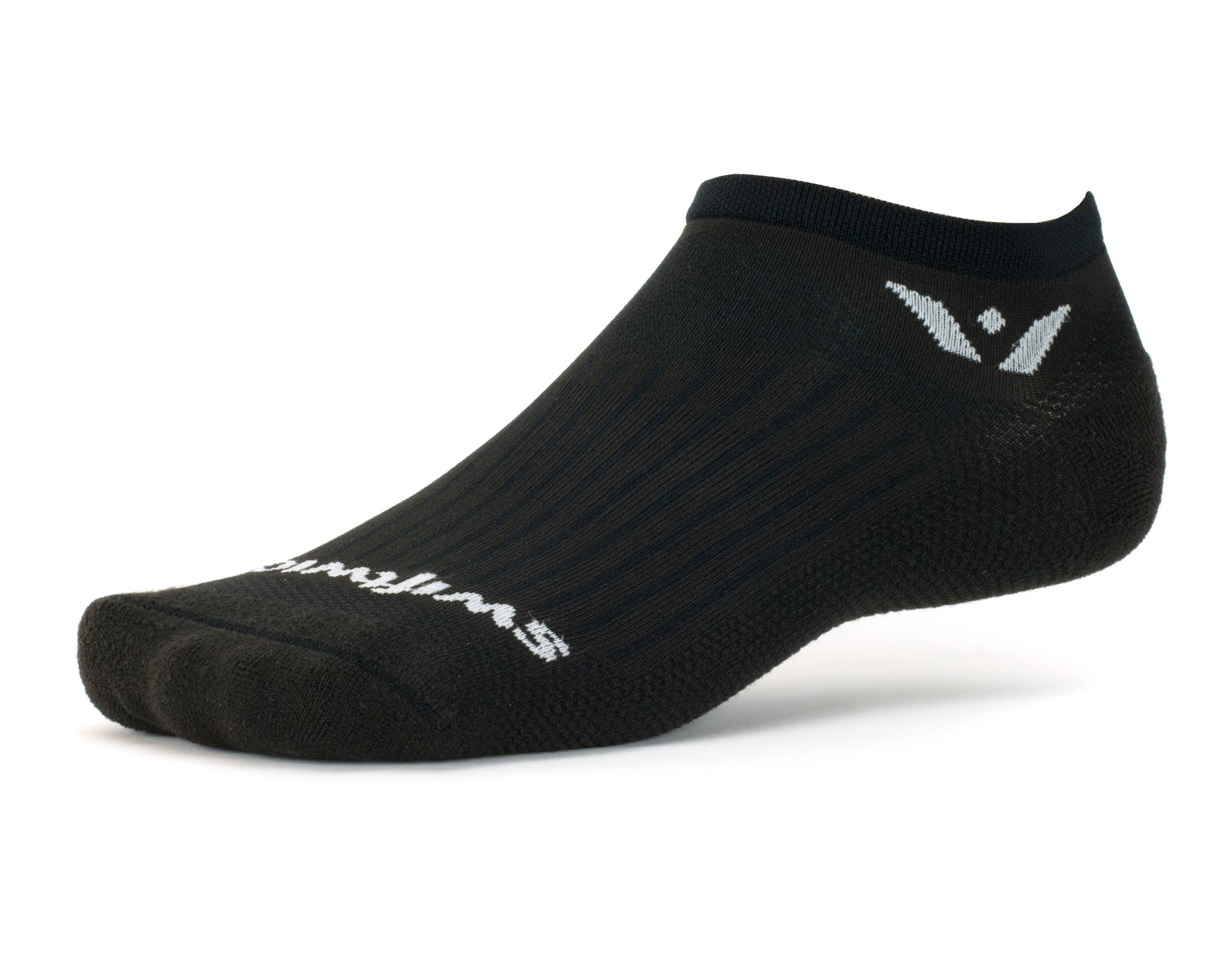 Swiftwick Aspire Zero Socks - Large (Black)