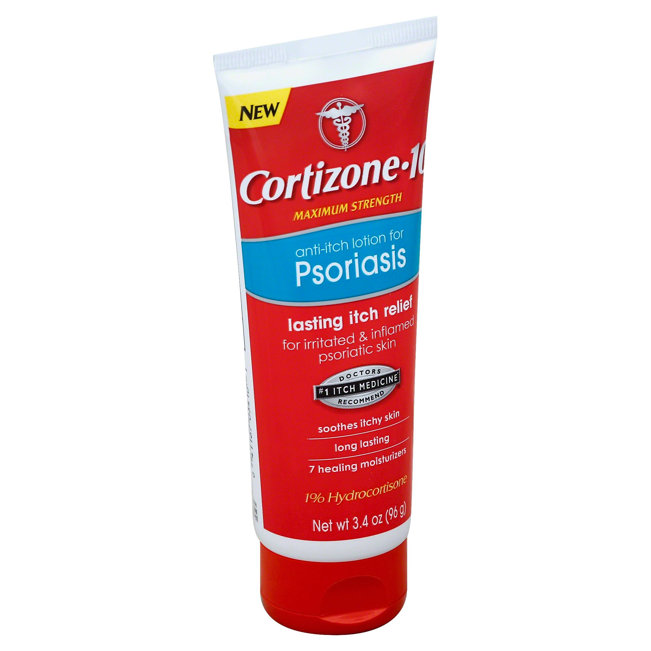 Cortizone 10 Anti-itch Psoriasis Lotion - 3.4oz