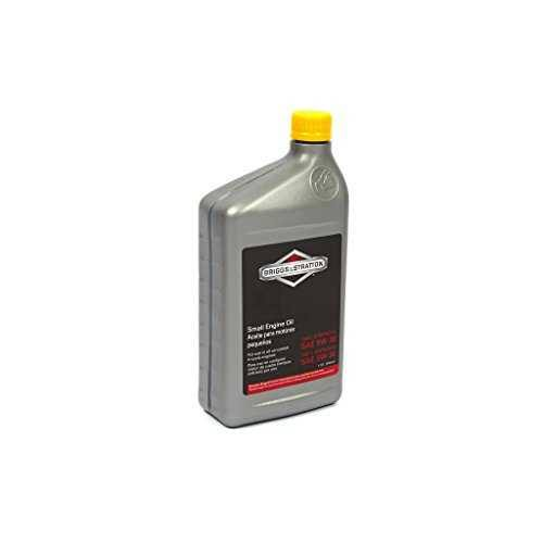 Briggs and Stratton Synthetic Engine Motor Oil - 32oz