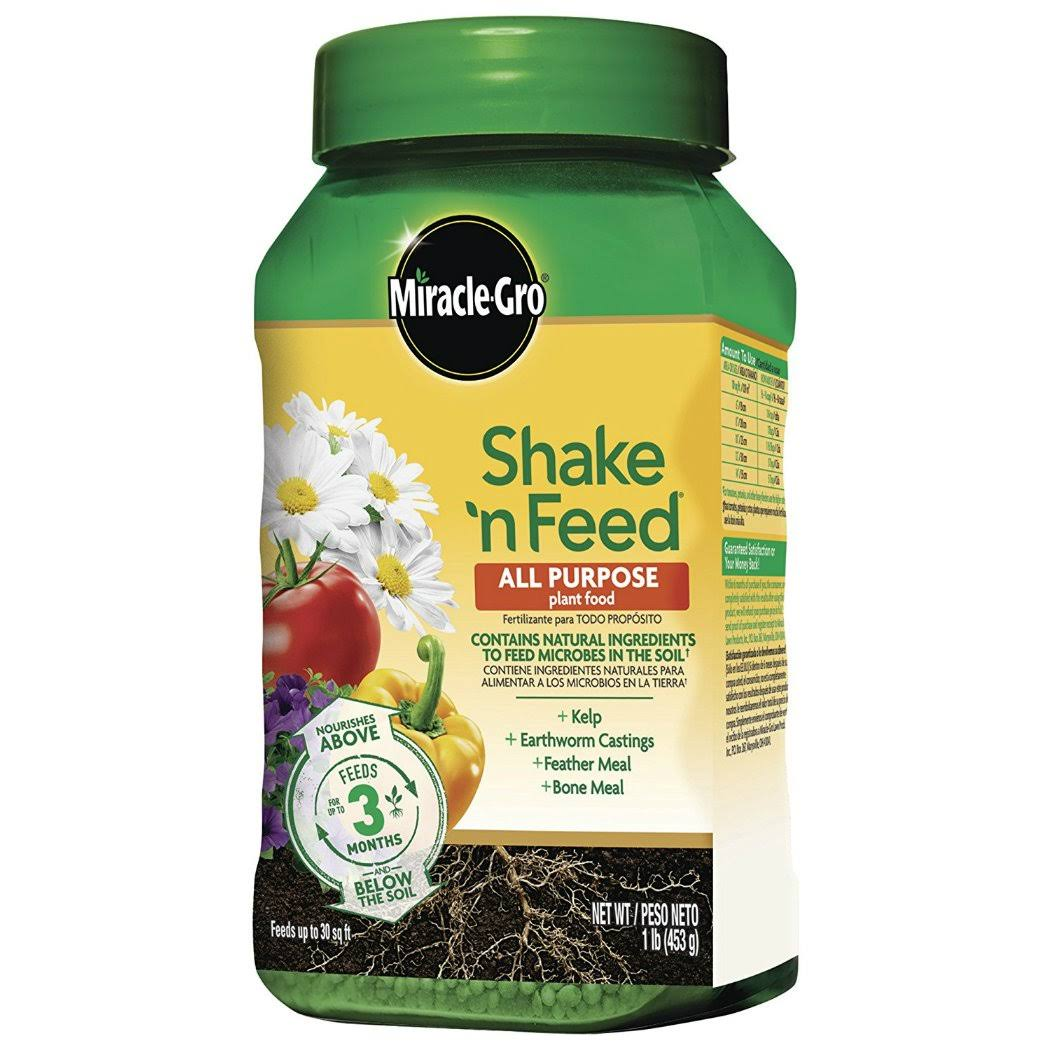 Miracle-Gro Shake 'N Feed All Purpose Continuous Release Plant Food - 1lb