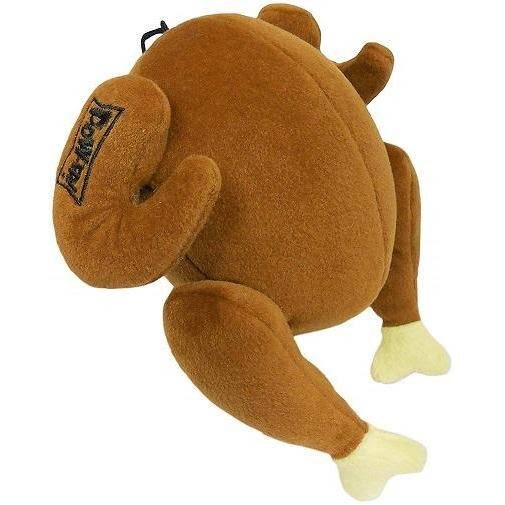 Lulubelles Power Plush Turkey Dog Toy Jumbo
