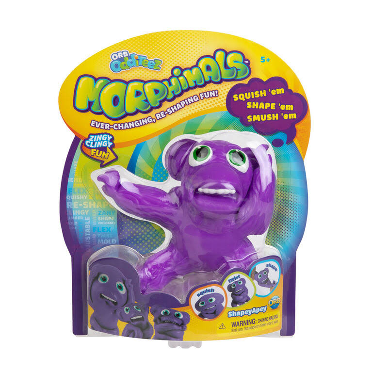 Orb Morphimals Purple Shapeyapey - Ultra-Sized Sensory Squeeze Toy
