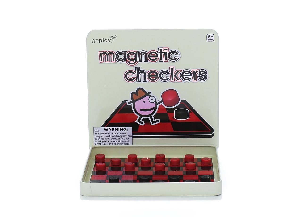 Toysmith Magnetic Travel Game - Checkers