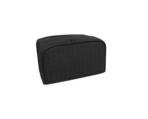 Ritz Quilted Toaster Oven/Broiler Appliance Cover, Black
