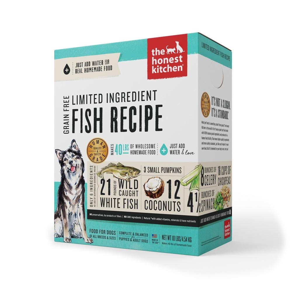 The Honest Kitchen Dog Food - Fish and Coconut