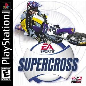 EA Sports Supercross - PlayStation 1