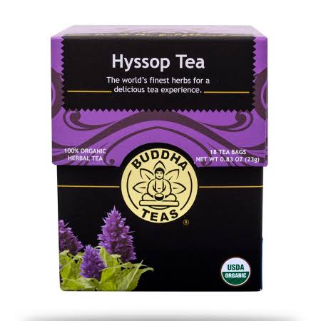 Buddha Teas Hyssop Tea - 18ct