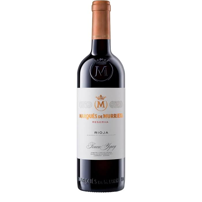 Marques de Murrieta Rioja Reserva 2015 - 750ml