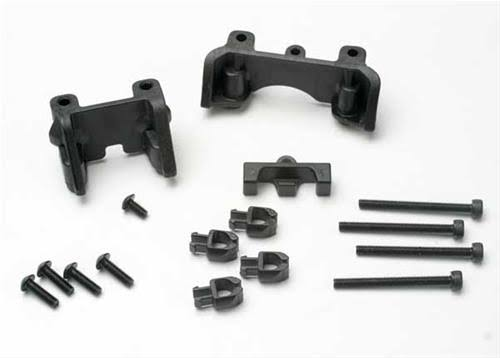 Traxxas 5317 Front and Rear Shock Mounts - with Hardware, Revo