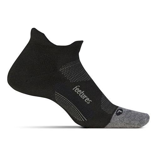 Feetures Elite Max Cushion No Show Tab - Black - L
