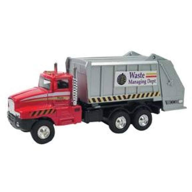 Schylling Die Cast Sanitation Truck Model Toy