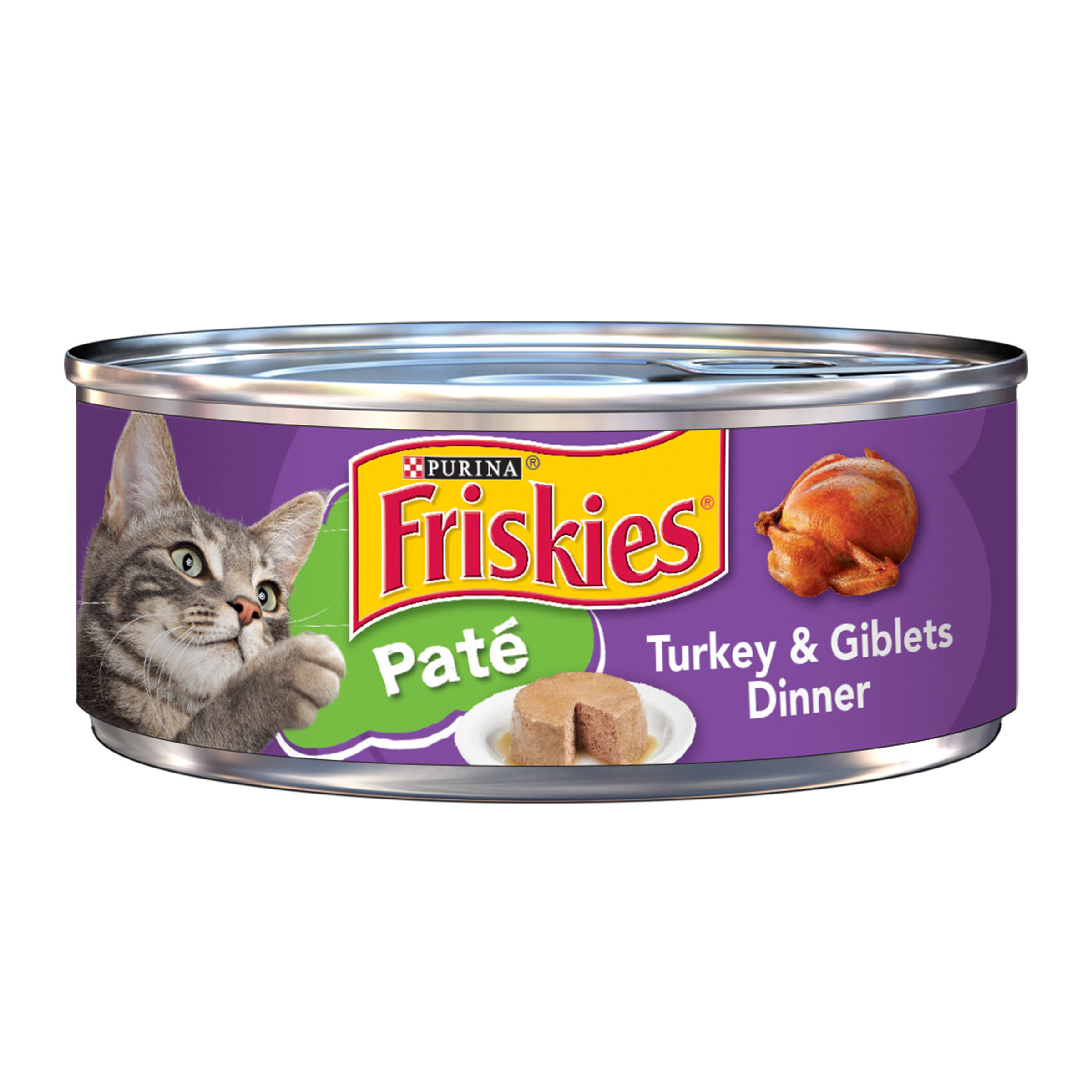 Purina Friskies Pate Turkey and Giblets Dinner Cat Food - 5.5oz