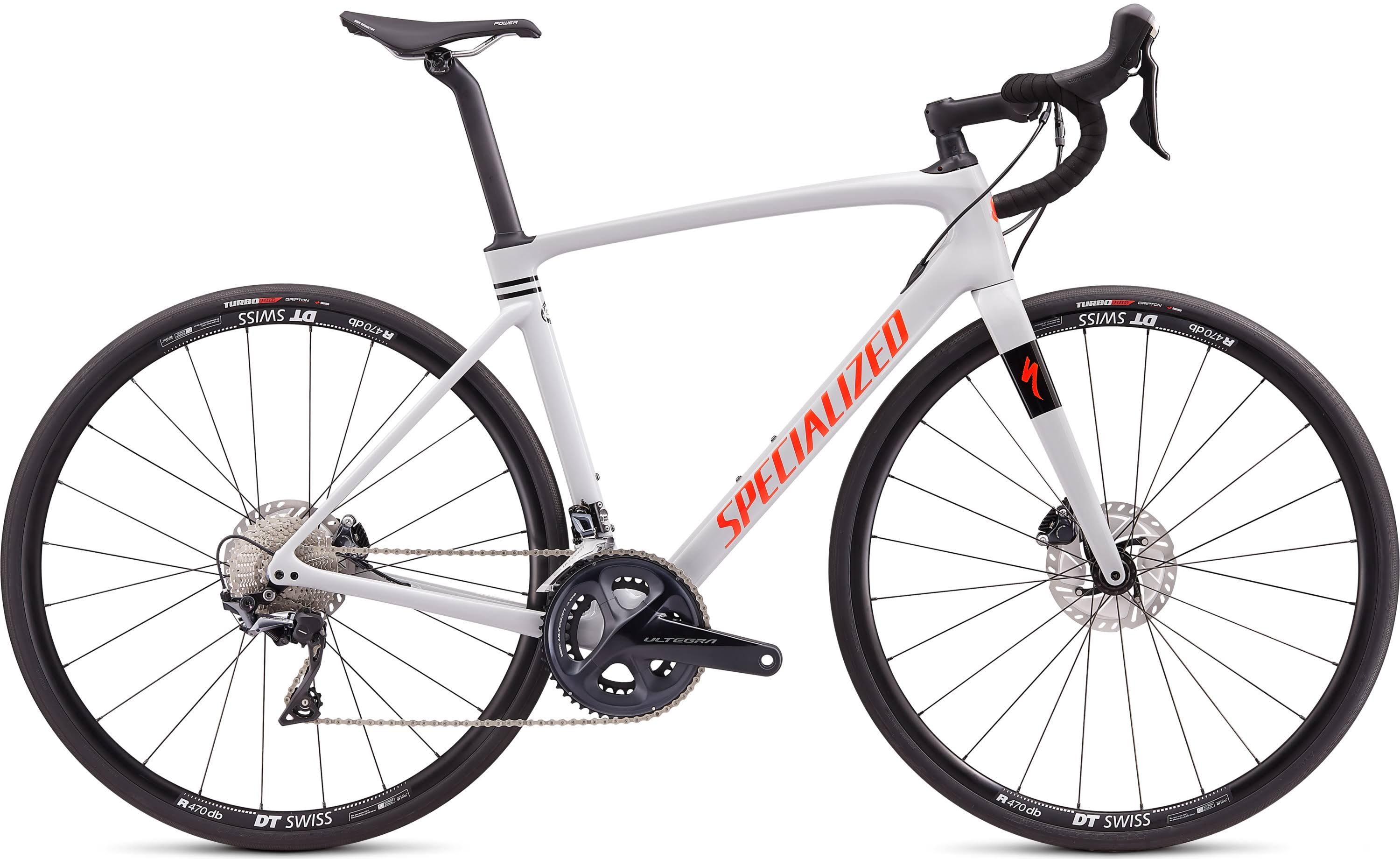 Specialized Roubaix Comp 2020 Road Bike -Dove Grey/Crimson-Rocket Red
