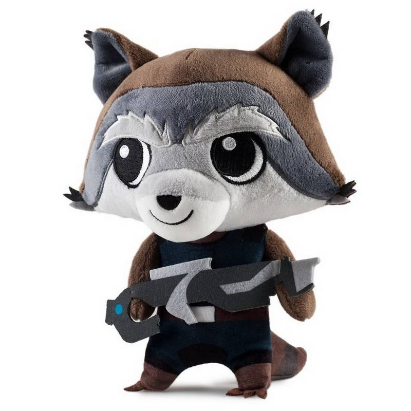 Guardians of the Galaxy Phunny Plush - Rocket Raccoon, 8""