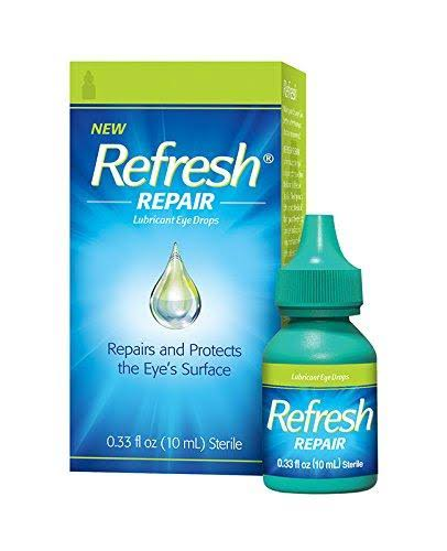 Refresh Eye Drops, Repair, Lubricant - 0.33 fl oz