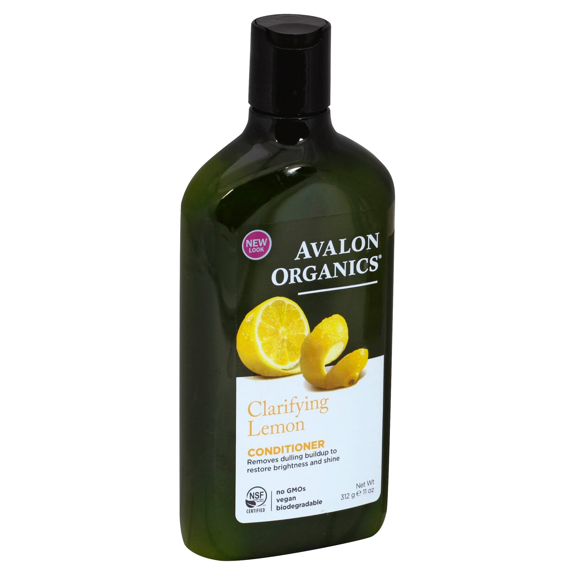Avalon Organics Clarifying Conditioner, Lemon - 11 fl oz bottle