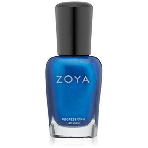 Zoya Nail Polish Lacquer Metallic Shimmer - Blue Metallic