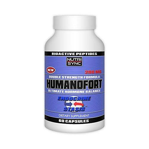 Humanofort Double Strength Formula Supplement - 60 Capsules, 200mg