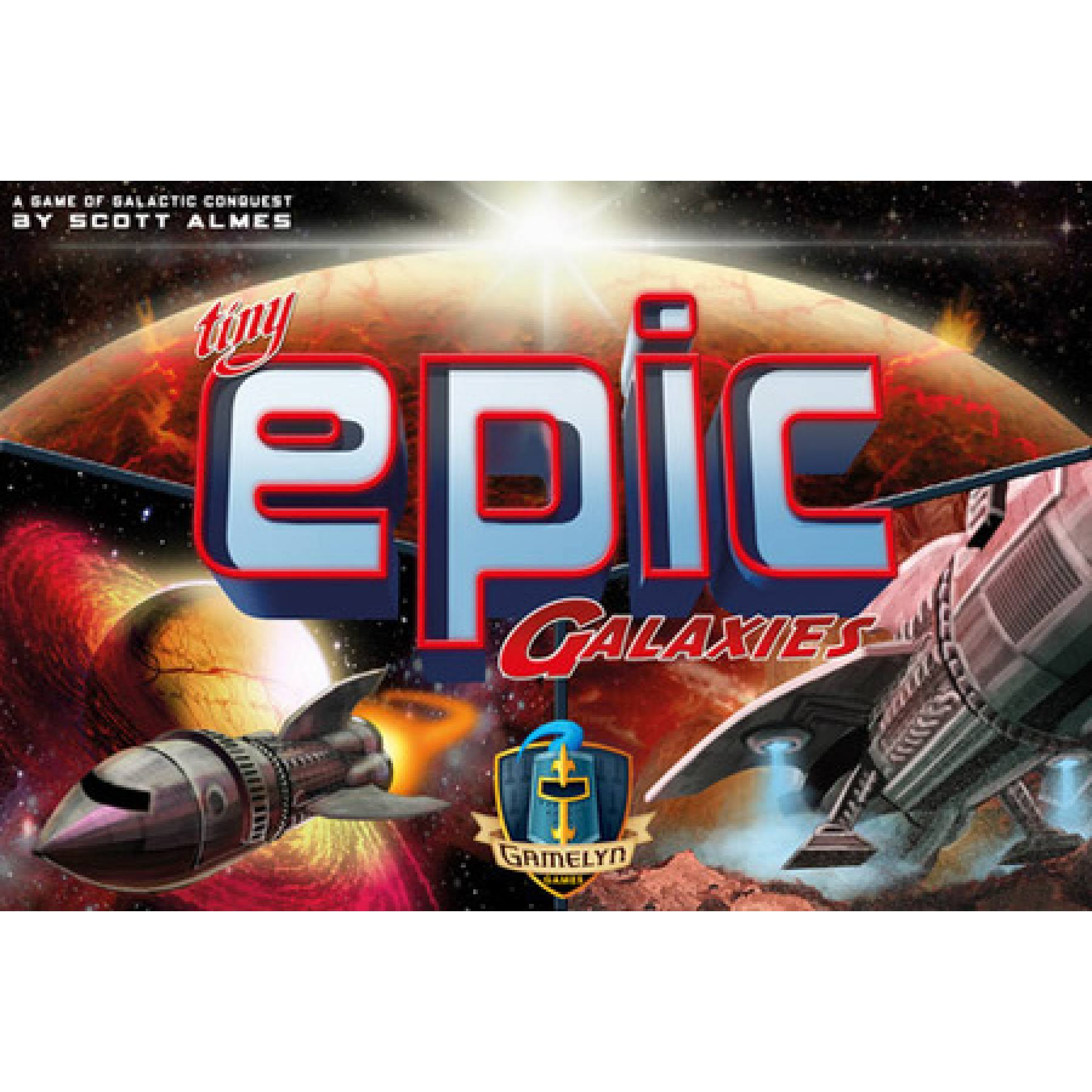 Tiny Epic Galaxies Dice Roll Cards Board Strategy Game