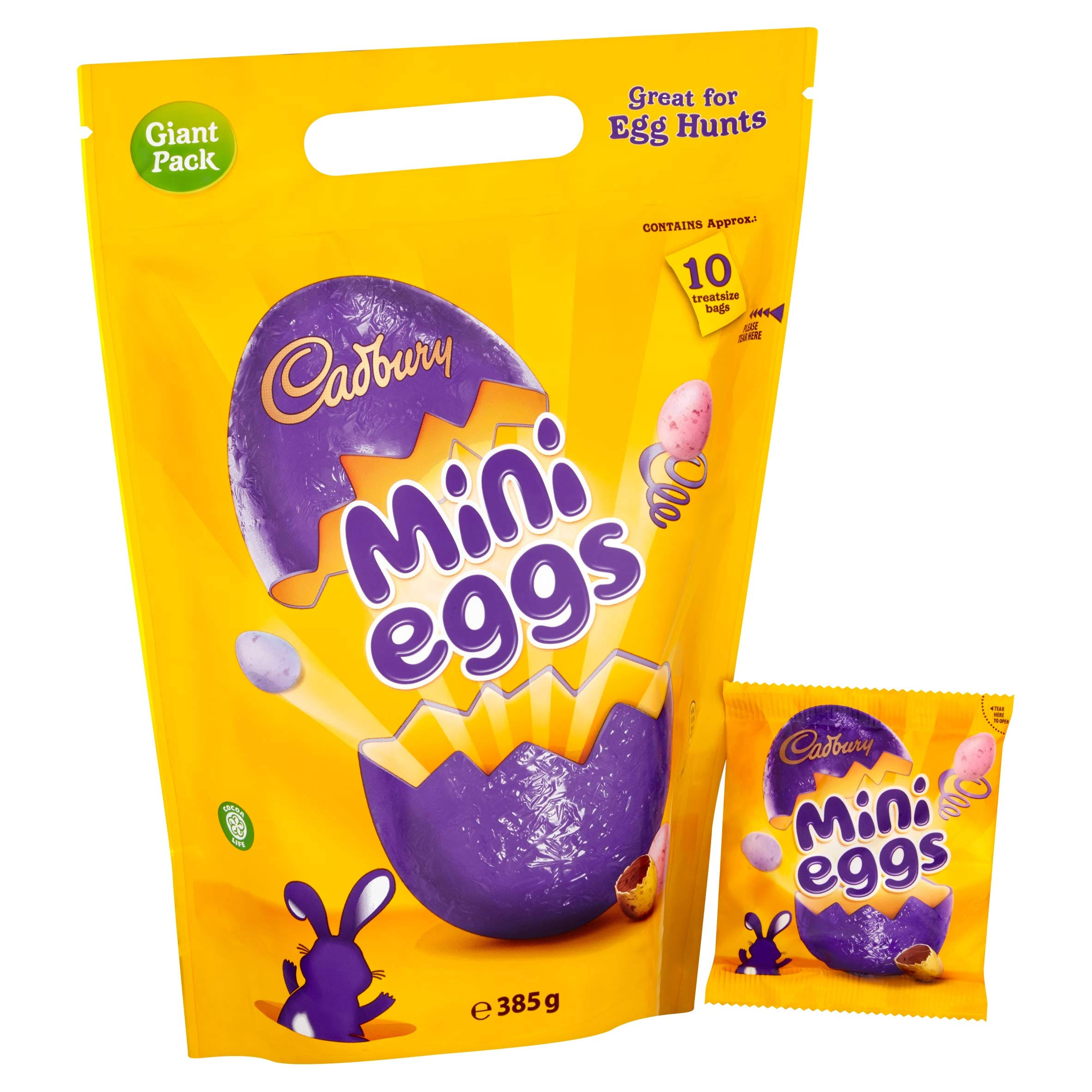 Cadbury Mini Eggs Pouch 385g