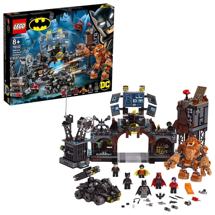 Lego DC Batman 76122 Batcave Clayface Invasion