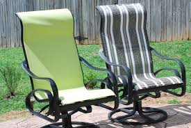 Replace Patio Sling Chair Fabric by Patio Chair Sling Fabric 18028
