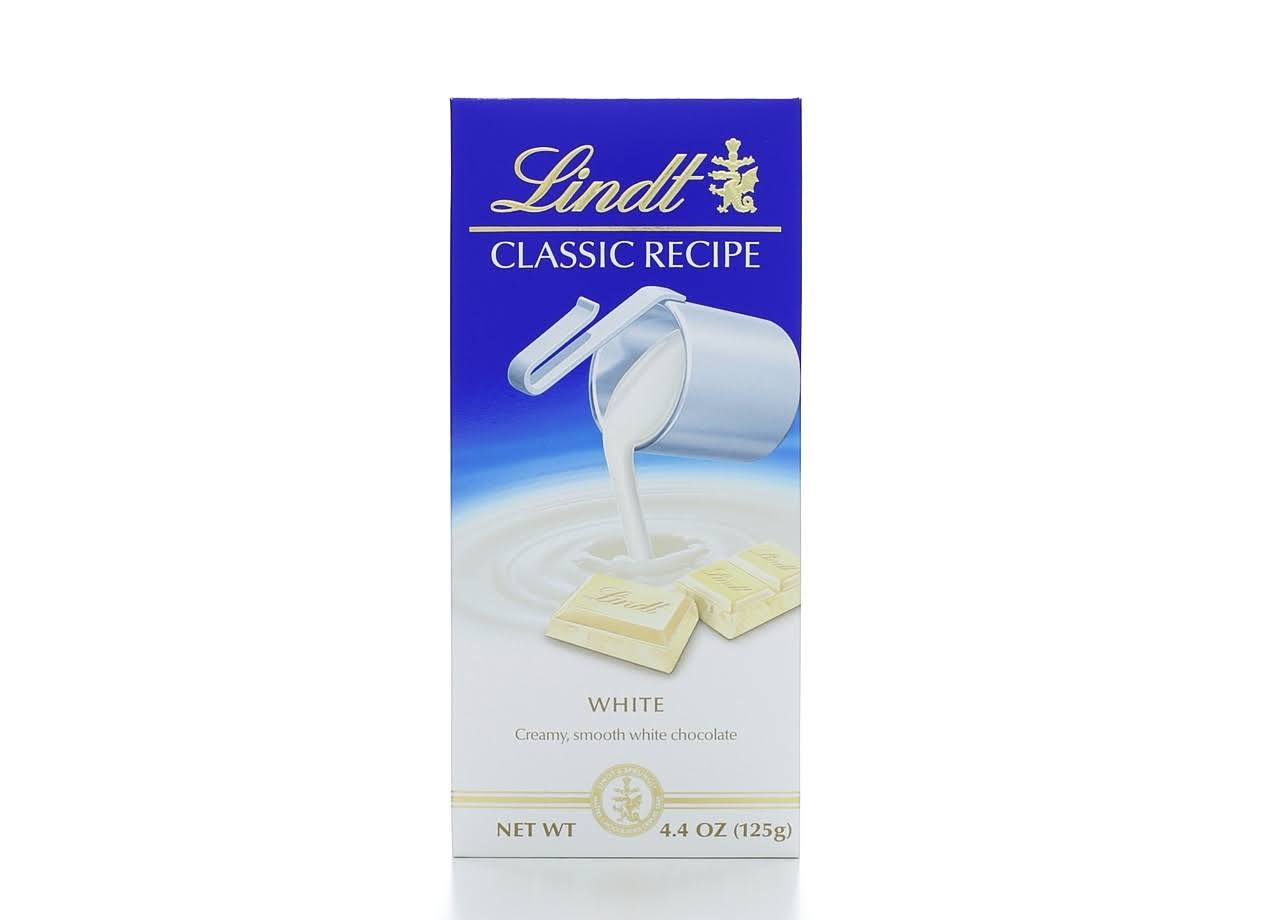 Lindt Classic Recipe White Chocolate - 125g