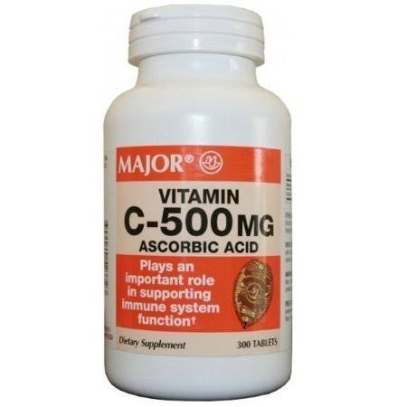 Major Vitamin C Dietary Supplement - 500mg, 300ct