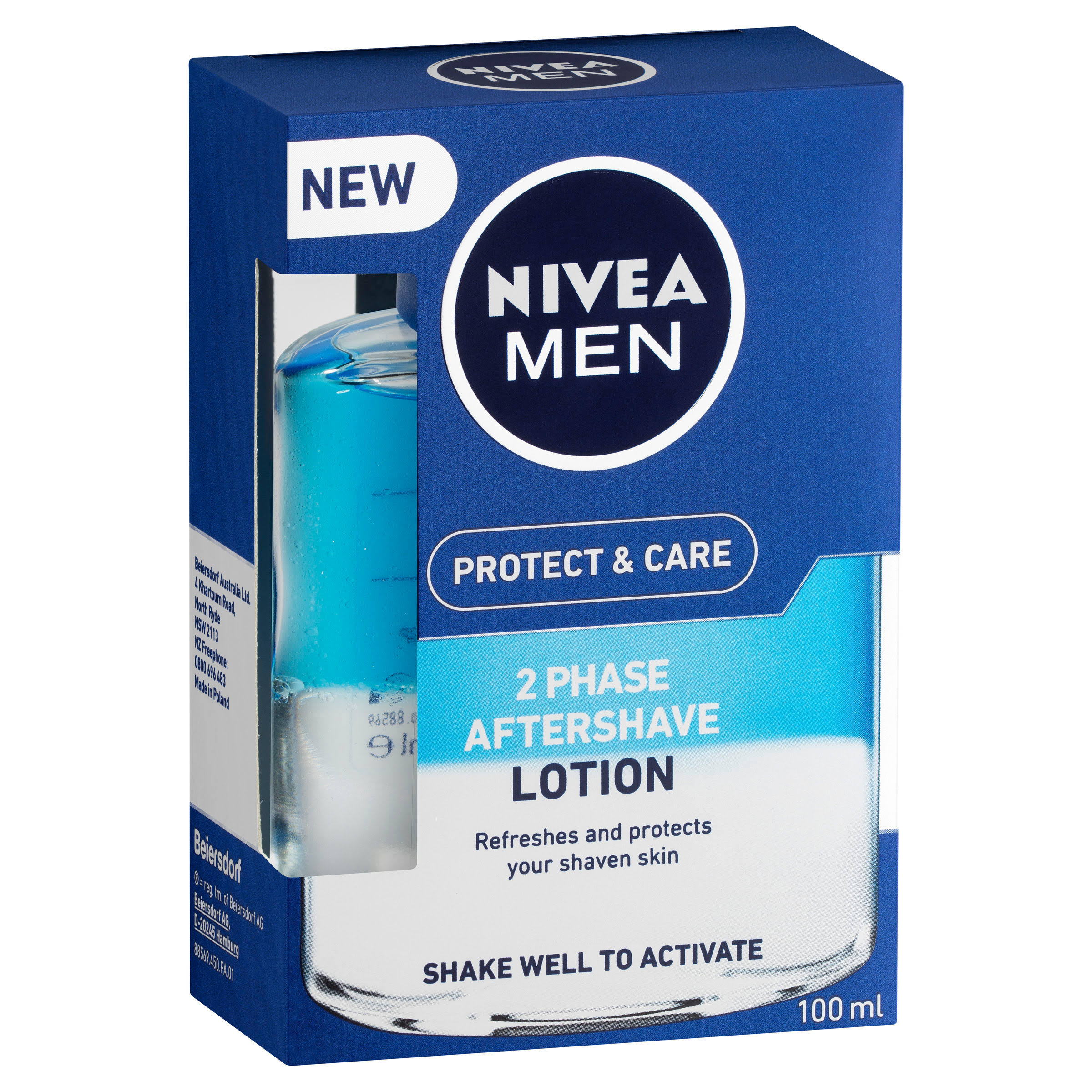 Nivea Men Protect and Care 2 Phase After Shave Lotion - 100ml