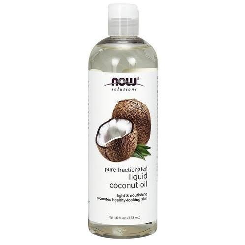 Now Foods Liquid Coconut Oil - 473ml