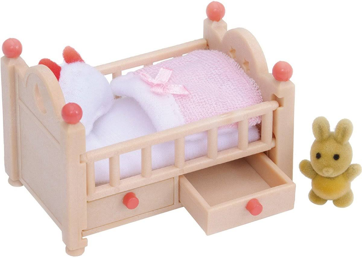 Sylvanian Families Playset Accessories - Baby Crib