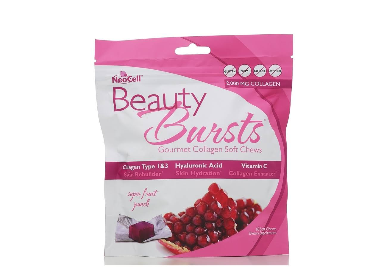 Neocell Corporation Beauty Bursts Collagen - 60 Soft Chews