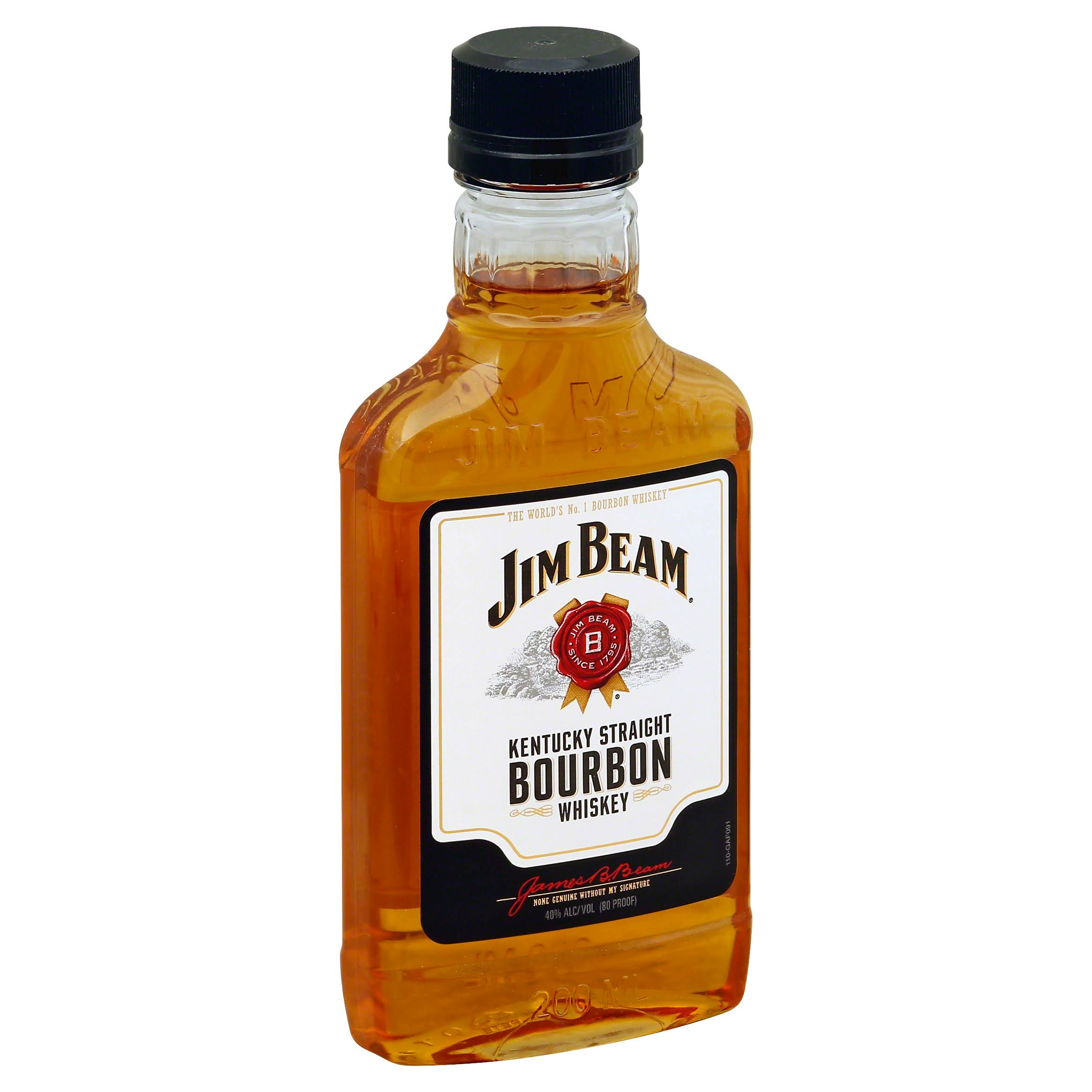 Jim Beam Kentucky Straight Bourbon Whiskey - 200ml