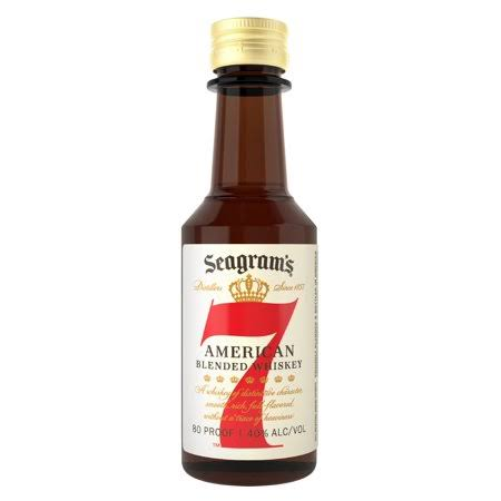 Seagram's Seven Crown Blended Whiskey - 50 ml bottle