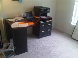 Small Corner Computer Desk Target by Nice Solid Wood Corner Desk Designs Bedroom Ideas