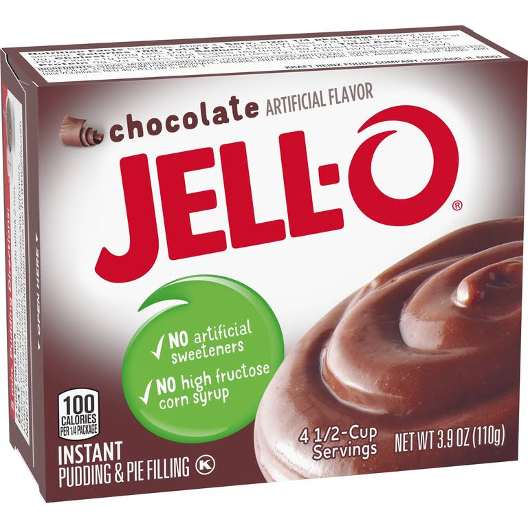 Jell-O Instant Pudding & Pie Filling - 3.9oz, Chocolate