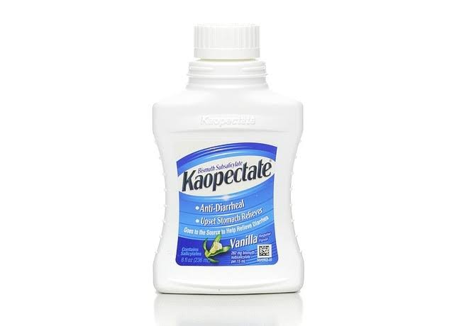 Kaopectate Bismuth Subsalicylate - 236ml, Vanilla