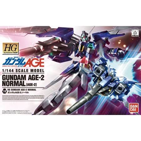 Bandai Gundam HG Age-10 Gundam Age-2 Normal Model Kit - 1/144 Scale
