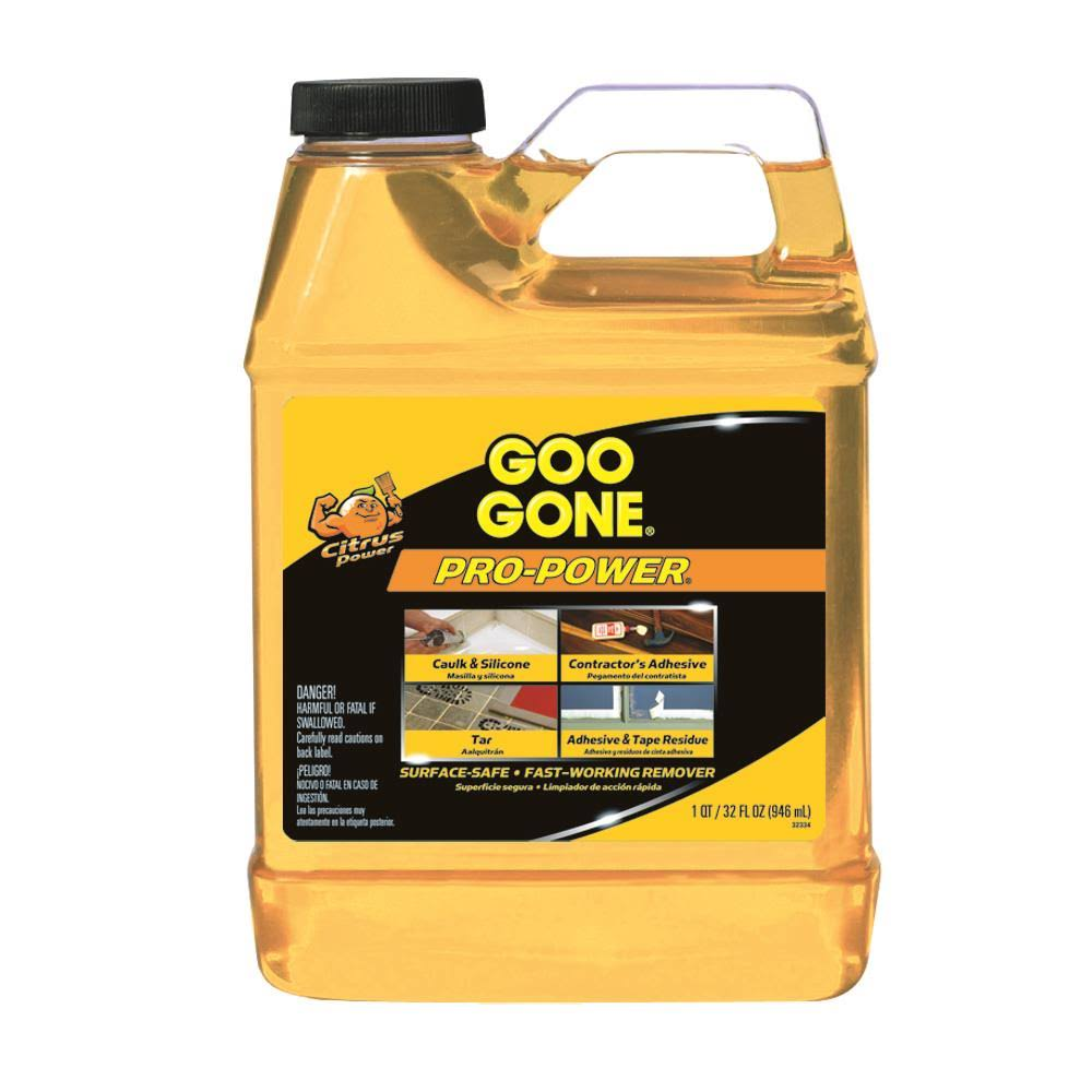 Goo Gone Pro-Power Liquid Solution - 0.25 gal
