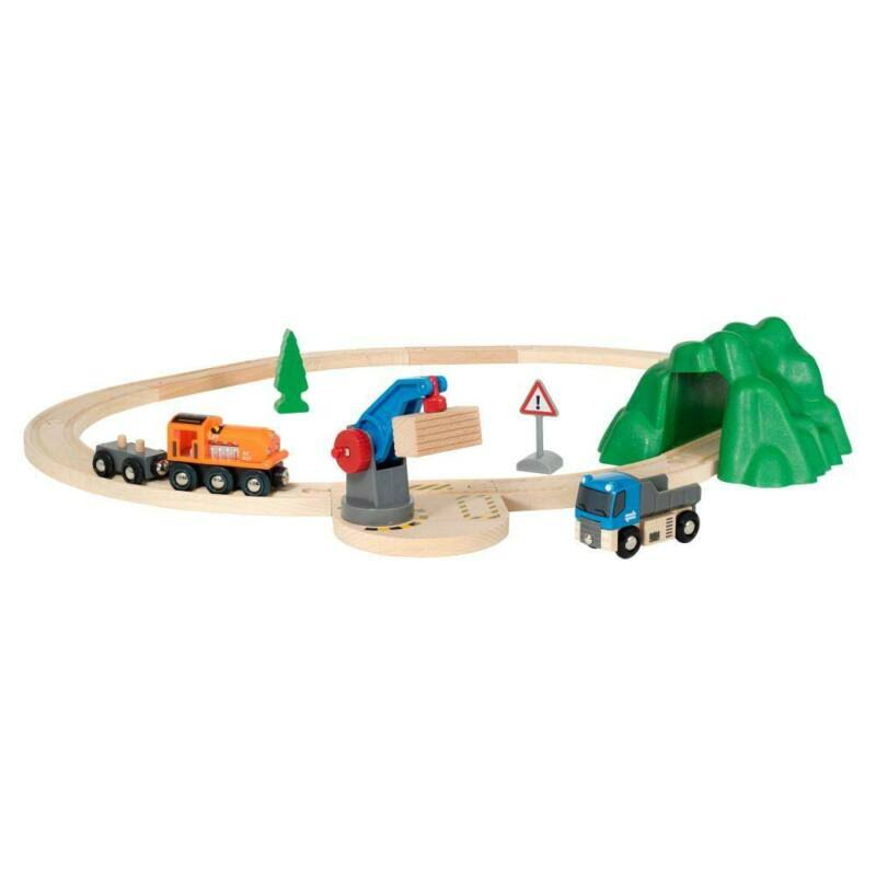 Brio Railway Starter Lift and Load Set Toys