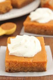 Libbys Pumpkin Pie Mix Ingredients by Skinny Pumpkin Cheesecake Bars Amy U0027s Healthy Baking
