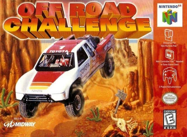 Off Road Challenge Nintendo 64 N64 Cartridge