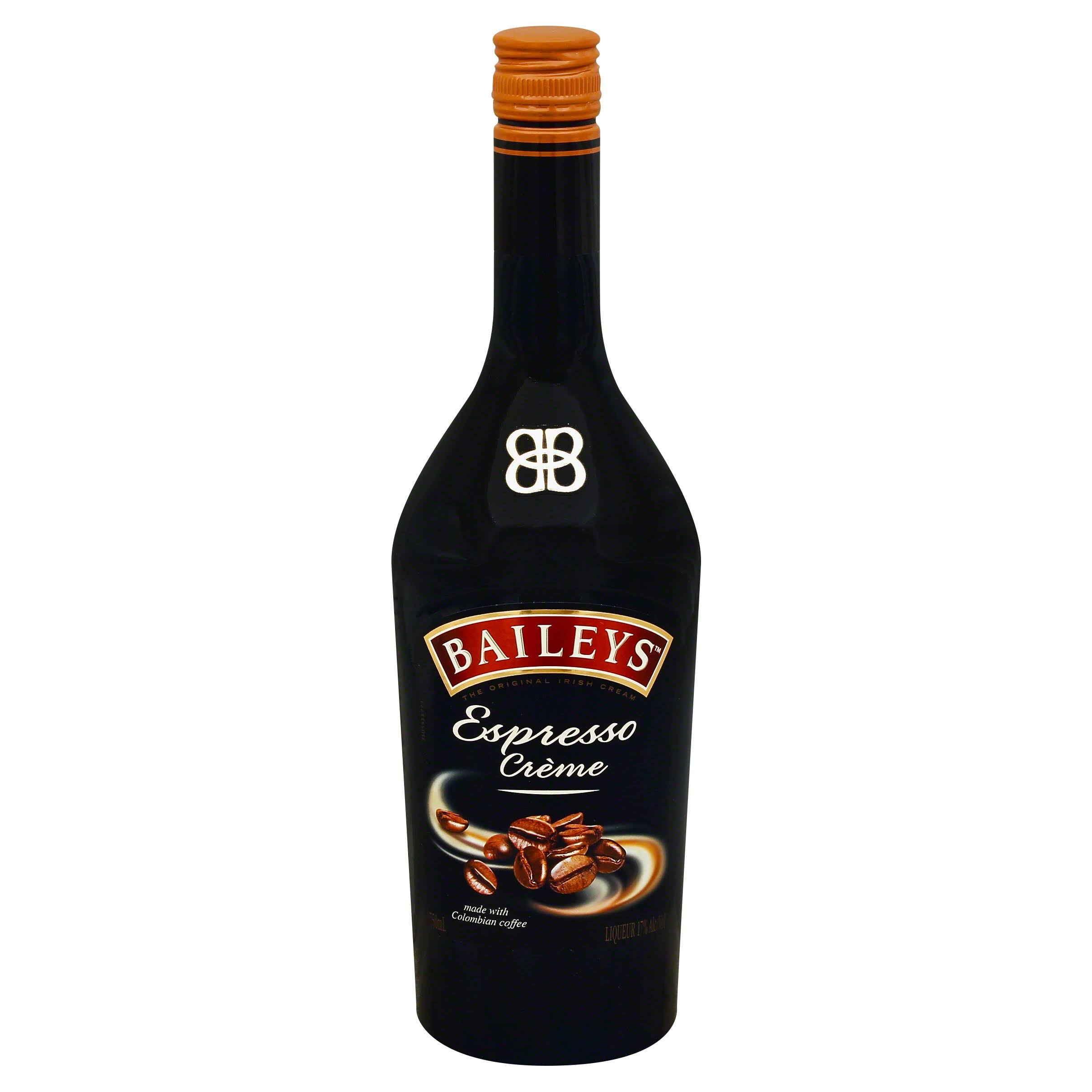 Baileys Irish Cream Espresso Liqueur - 750 ml bottle